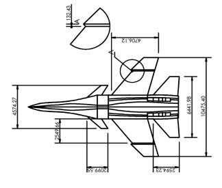 1 Dimension of Gripen wing on the Sukhoi Su-30 body model .jpg