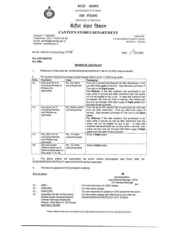 canteen-stores-department-csd-review-of-car-policy-order-dated-29-10-2020.png