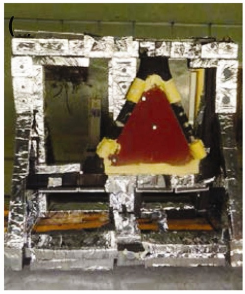 GSLV ITT protection  plate ready for acoustic test at ATF..jpg