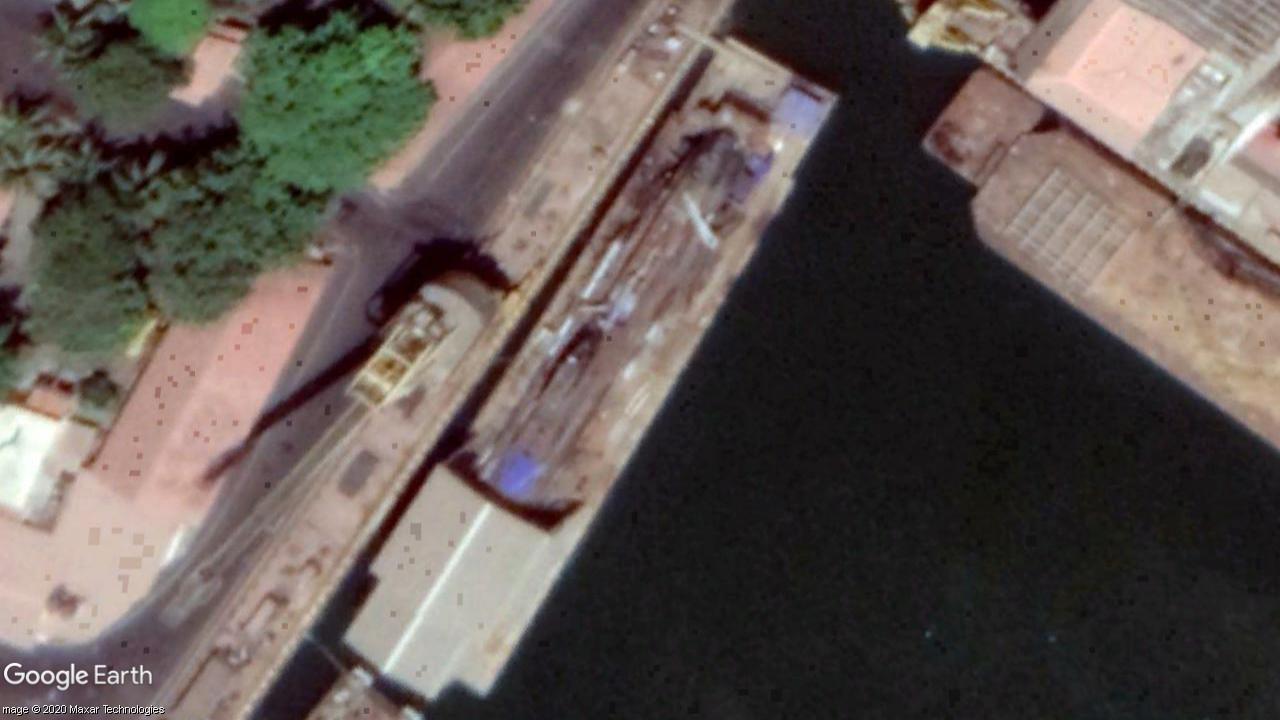 INS Shalki SSK Refit Naval Dockyard Mumbai September 2020.jpg