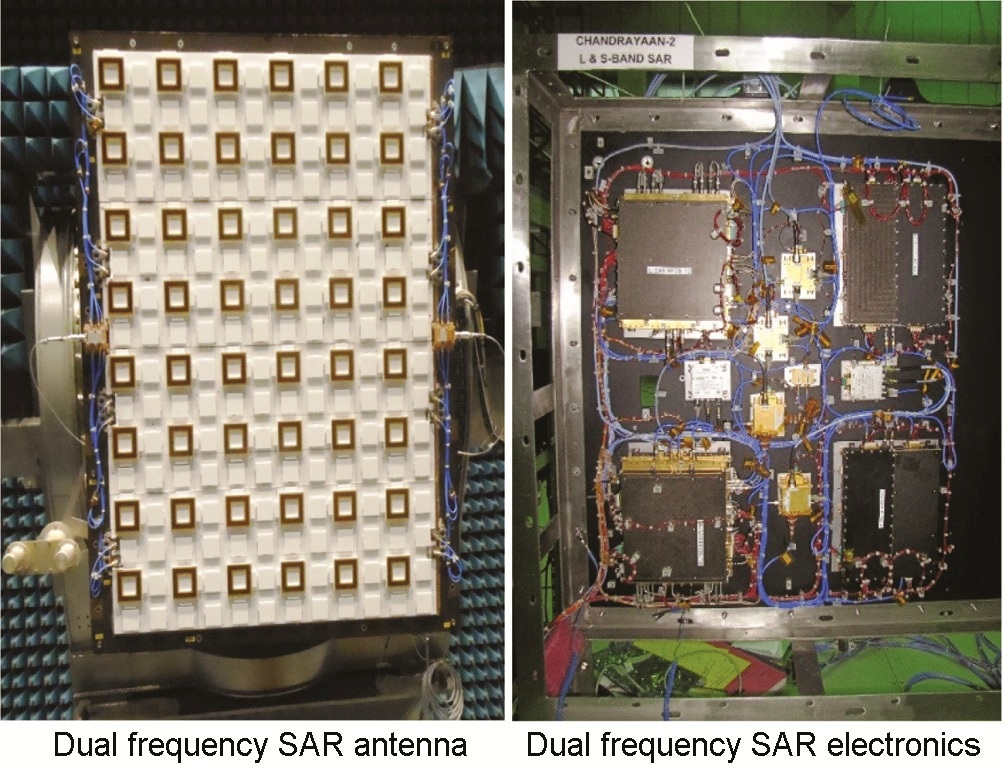Integrated flight hardware of L- and S-band SAR in payload.jpg