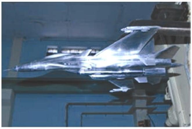 MKI model in 1.2 m WT..jpg