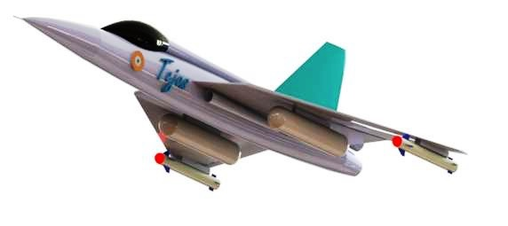 Modeling of F-16 HAL TEJAS Aircraft using Solid works 2015.jpg