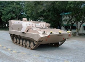 Prototype UGV based on Nag Missile Carrier.jpg