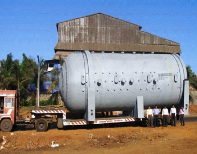Transportation of the autoclave shell..jpg