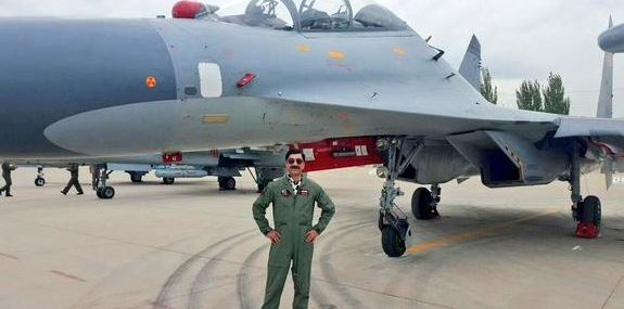 Wing Commander Shahzaz Ud Din, PAF, F-16, Pictures.JPG