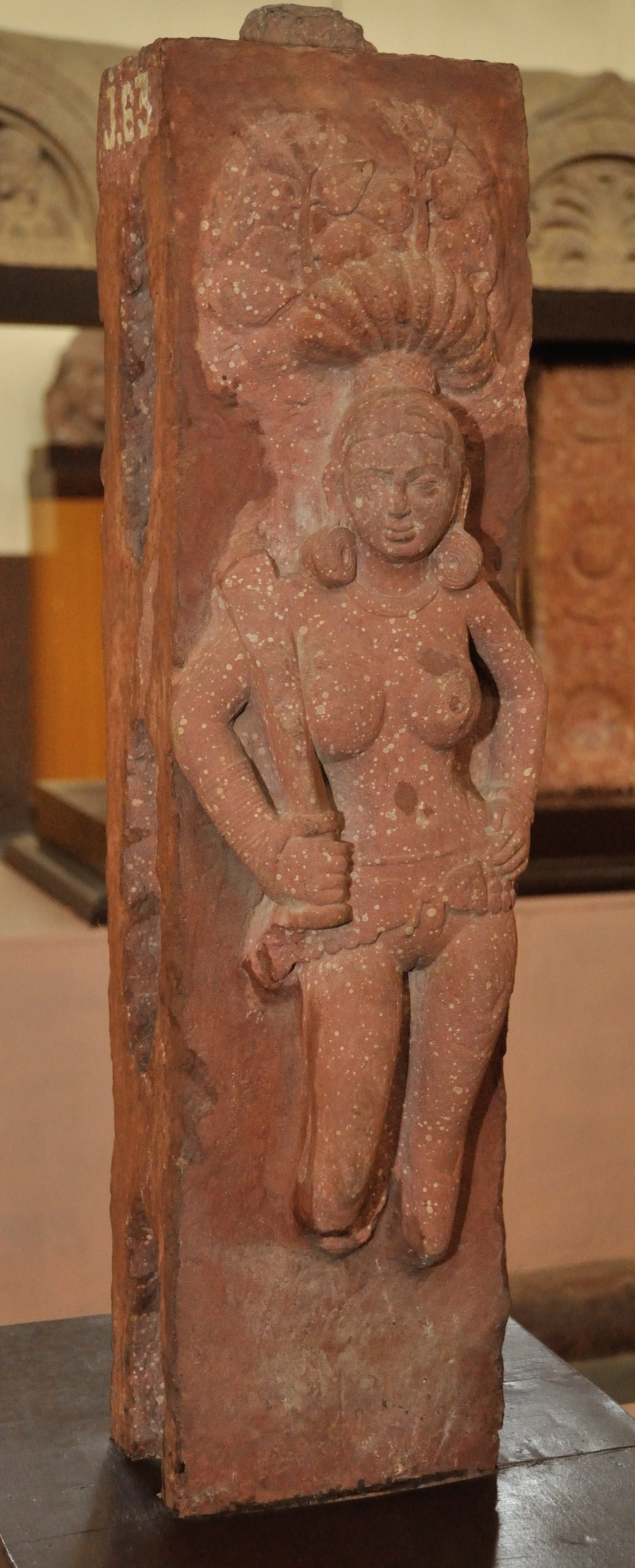 Woman_with_Sword_Under_Pipal_Tree_-_Circa_1st_Century_CE_-_Lakshmangarh_Mound_-_ACCN_00-J-63_-...jpg