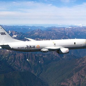 Indian Navy P8I Poseidon