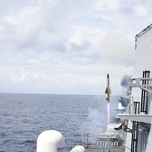Indian Navy Barak 1 SAM