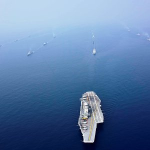 Indian Navy INS Vikramaditya Battle Group