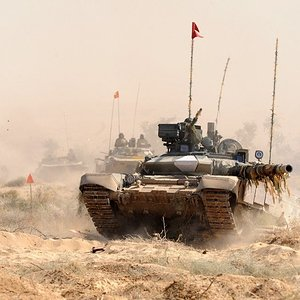 Indian Army T90S Bhisma