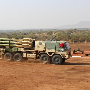Indian Army Smerch MBRL