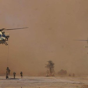 Indian Army Dhruv Insertion