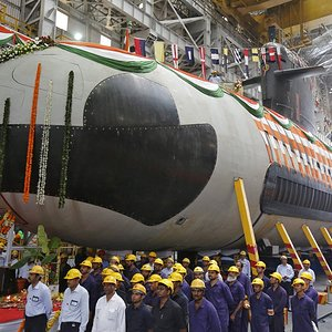 Indian Navy Kalvari Class Submarine