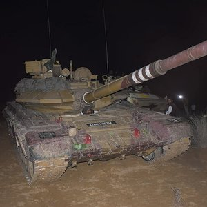 Indian Army T90s Bhishma
