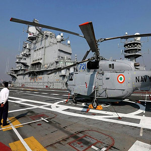 Indian Navy Kamov Helicopter