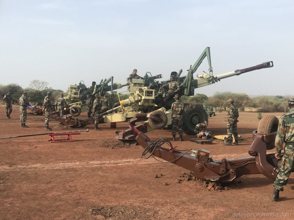 Indian Army 155mm Bofors Gun