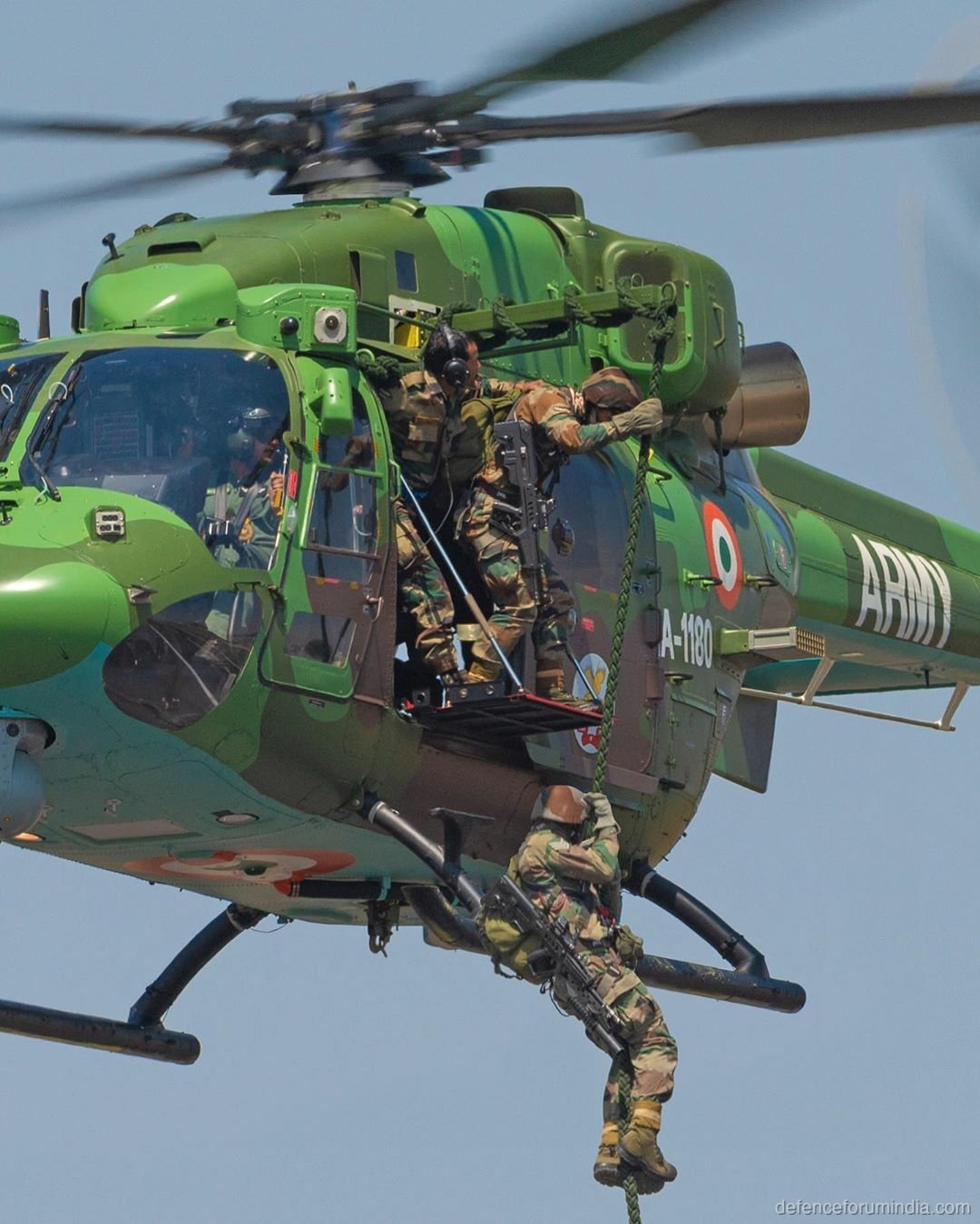 Indian Army Dhruv Special Forces Insertion