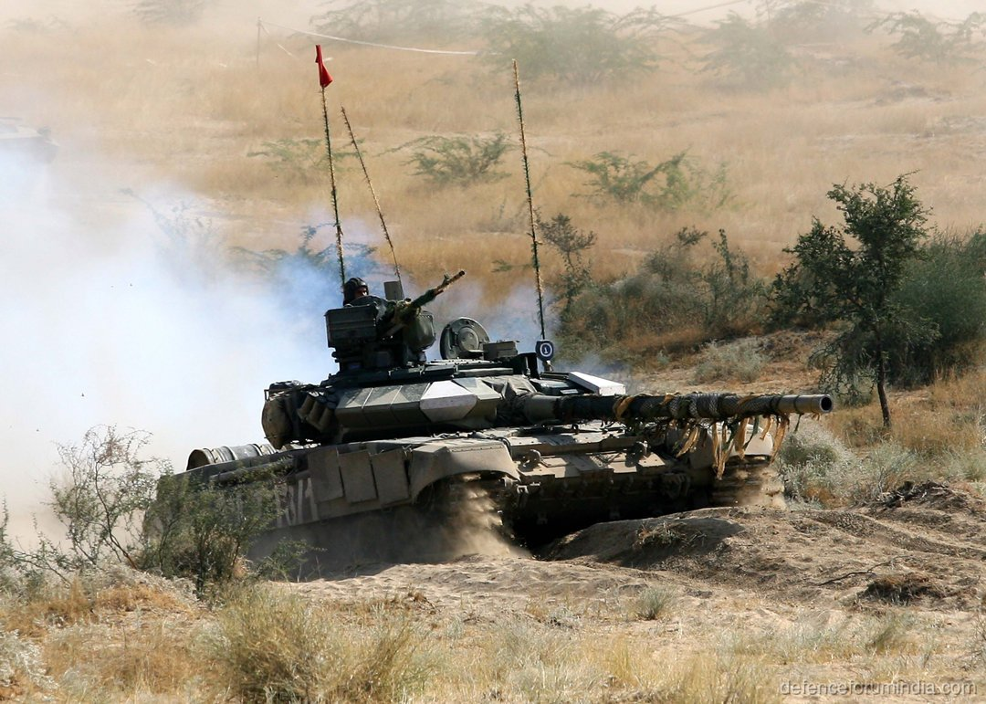 Indian Army T 90S Bhisma