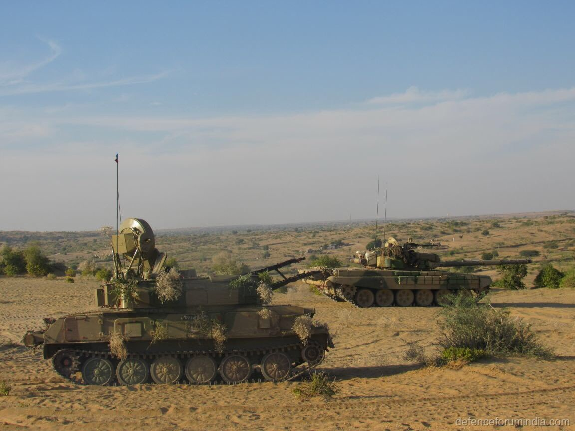Indian Army T72 Ajeya, Schika Anti Air System