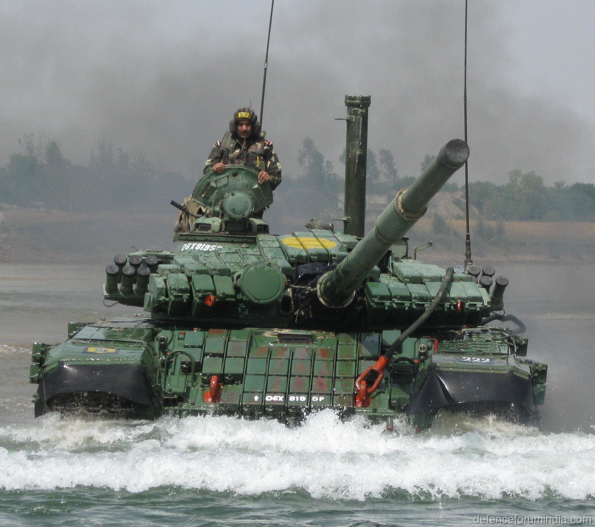 Indian Army T72 Ajeya