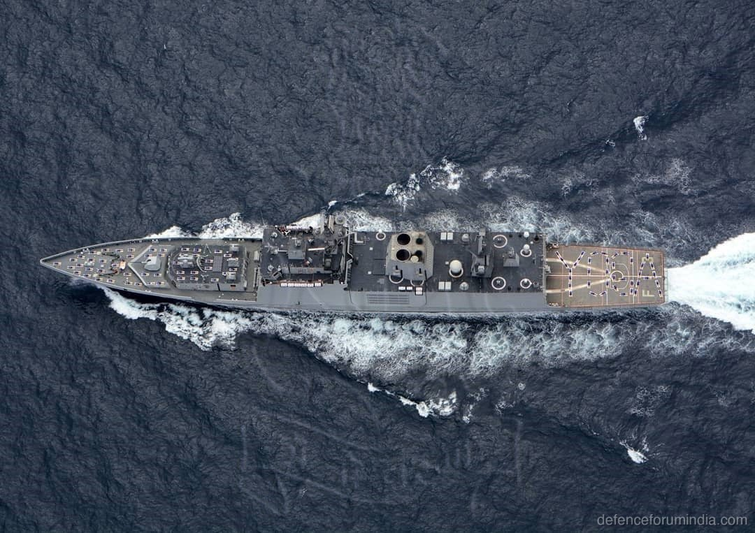 Indian Navy Shivalik Class Frigate